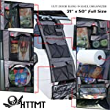 HTTMT - HANG-N-HAUL Storage Bag Organizer For Camping Home Office Picnic Waterproof Hanging Cargo One-Piece Bag W21' x…