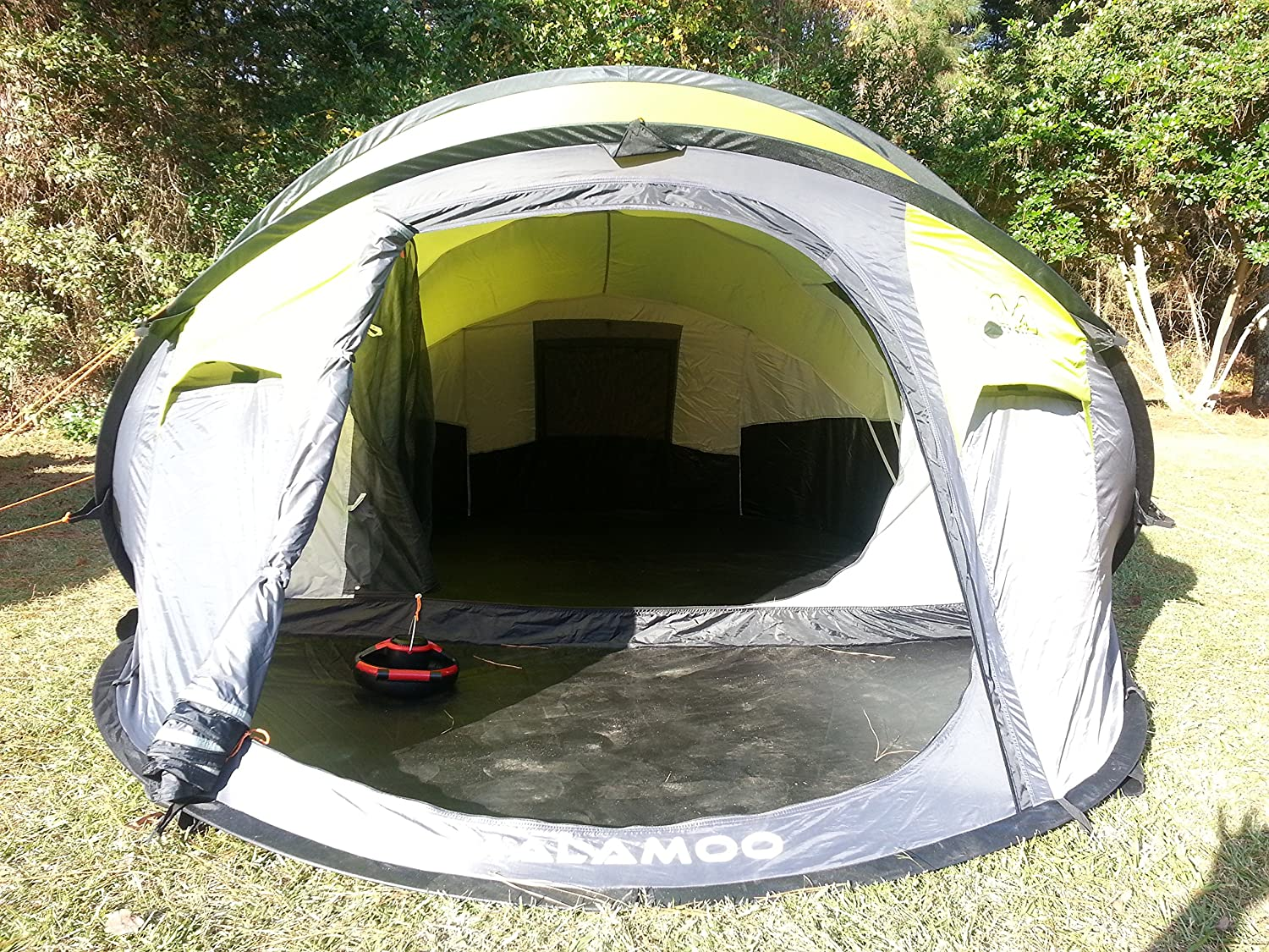 Amazon.com  Malamoo Mega 3 Second 4 Person Waterproof Tent  Sports u0026 Outdoors & Amazon.com : Malamoo Mega 3 Second 4 Person Waterproof Tent ...