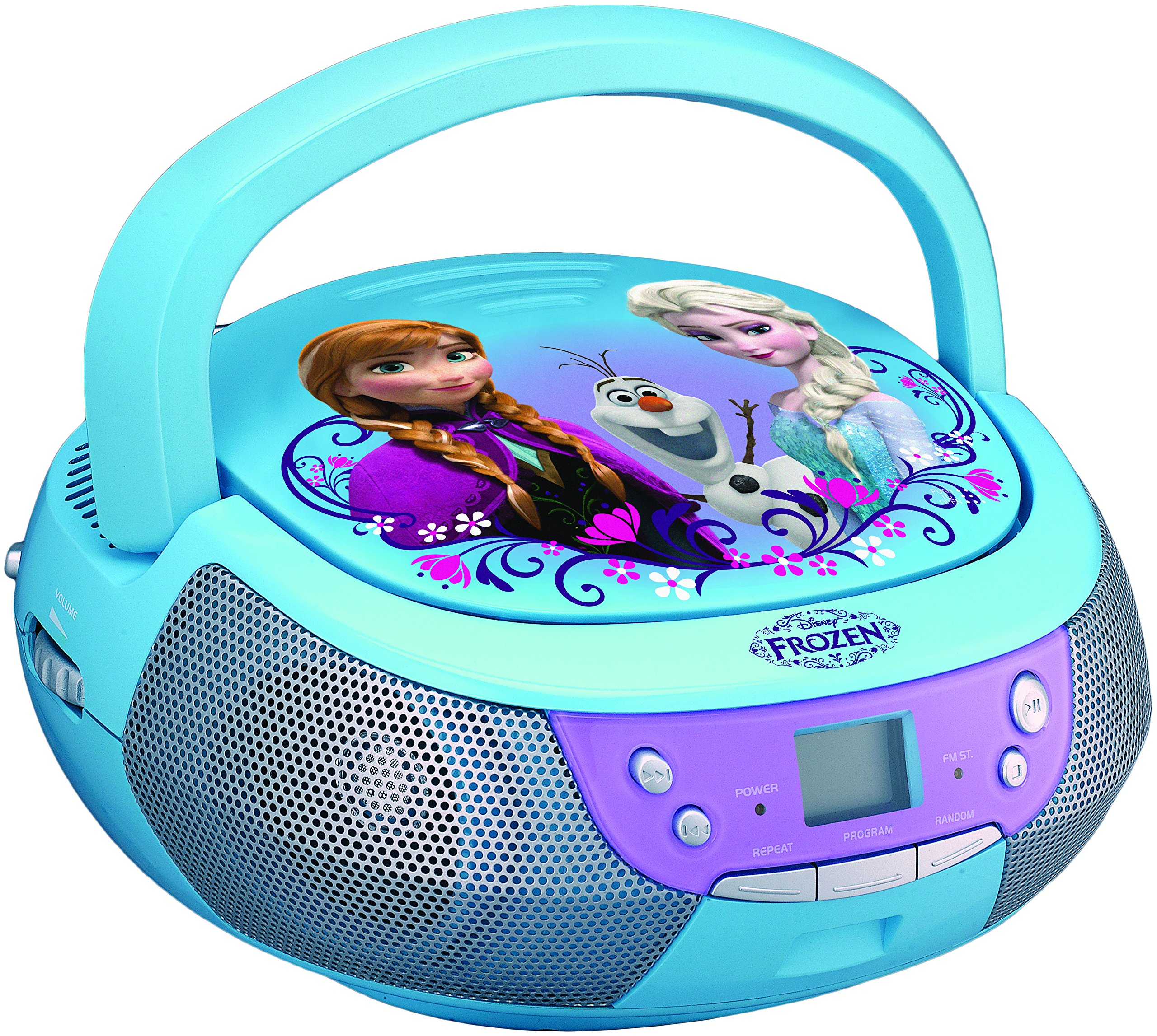 Frozen FR-430.EX CD Player Boombox with Mic