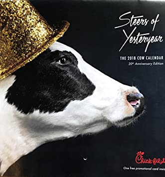 Chick Fil A Calendar.2018 Chick Fil A Cow Calendar Amazon Ca Office Products