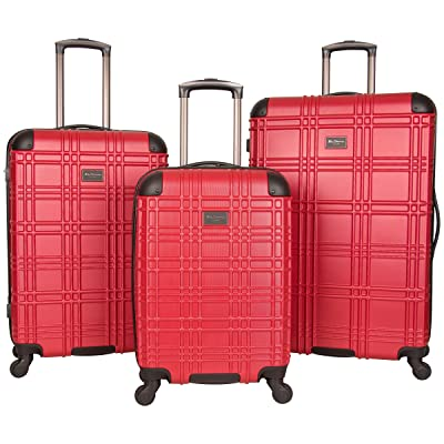 "Ben Sherman Nottingham Hardside 4-Wheel 3-Piece Nested Spinner Luggage Set: 20"" Carry-on"