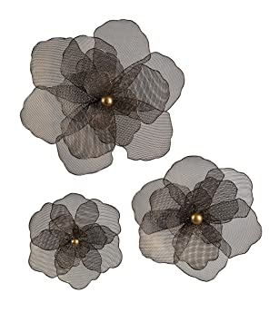 Imax 87229 3 Astaire Flower Wall Decor Set Of 3