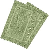 Utopia Towels Tapis de Bain en Coton - Lavable en Machine (Lot de 2, 53 x 86 cm)