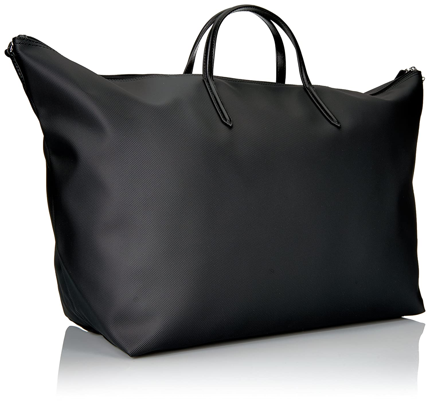 bf50db46a9 Lacoste L.12.12 Concept Travel Shopping Bag, 000 Black: Amazon.in: Clothing  & Accessories