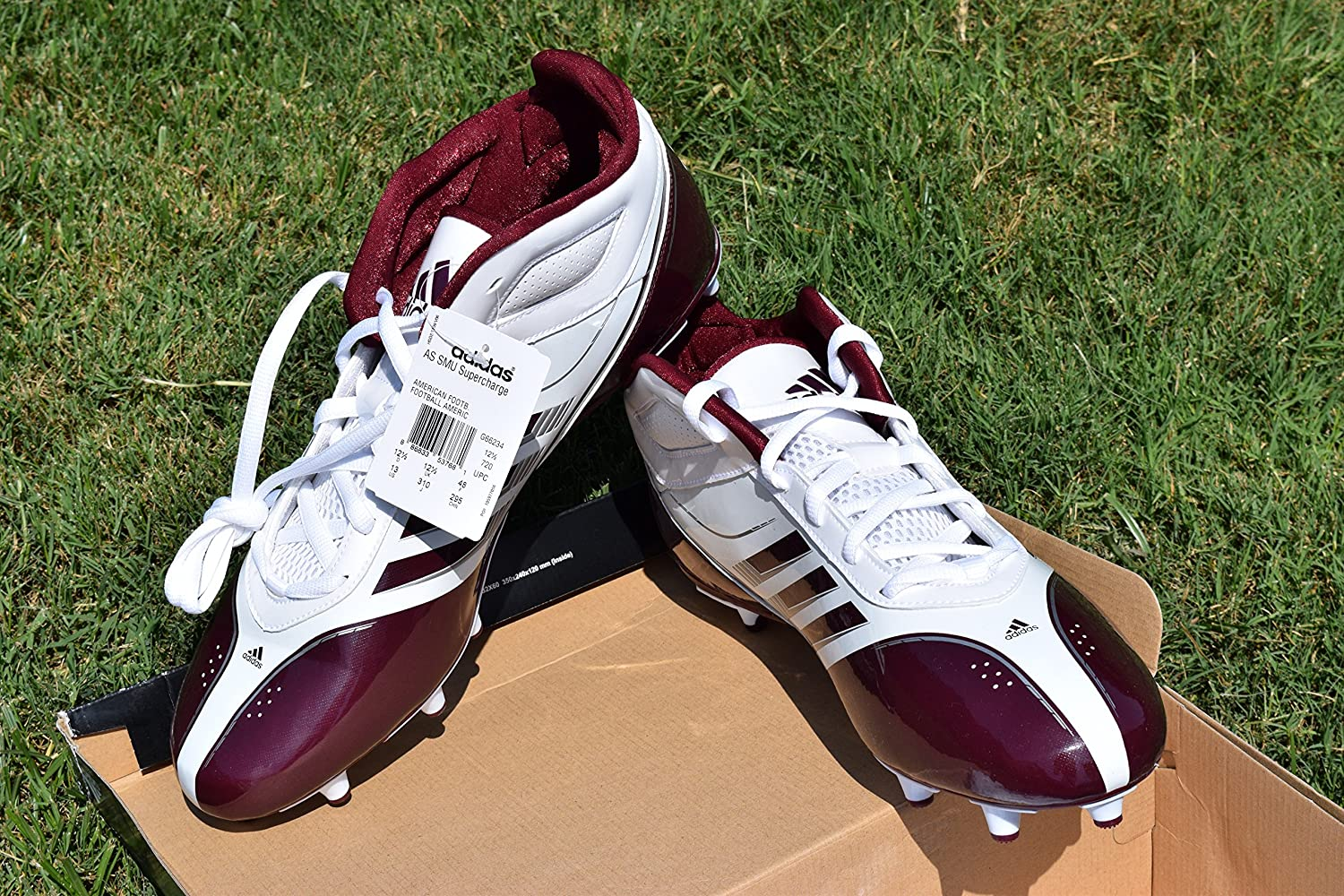 White Football Cleats