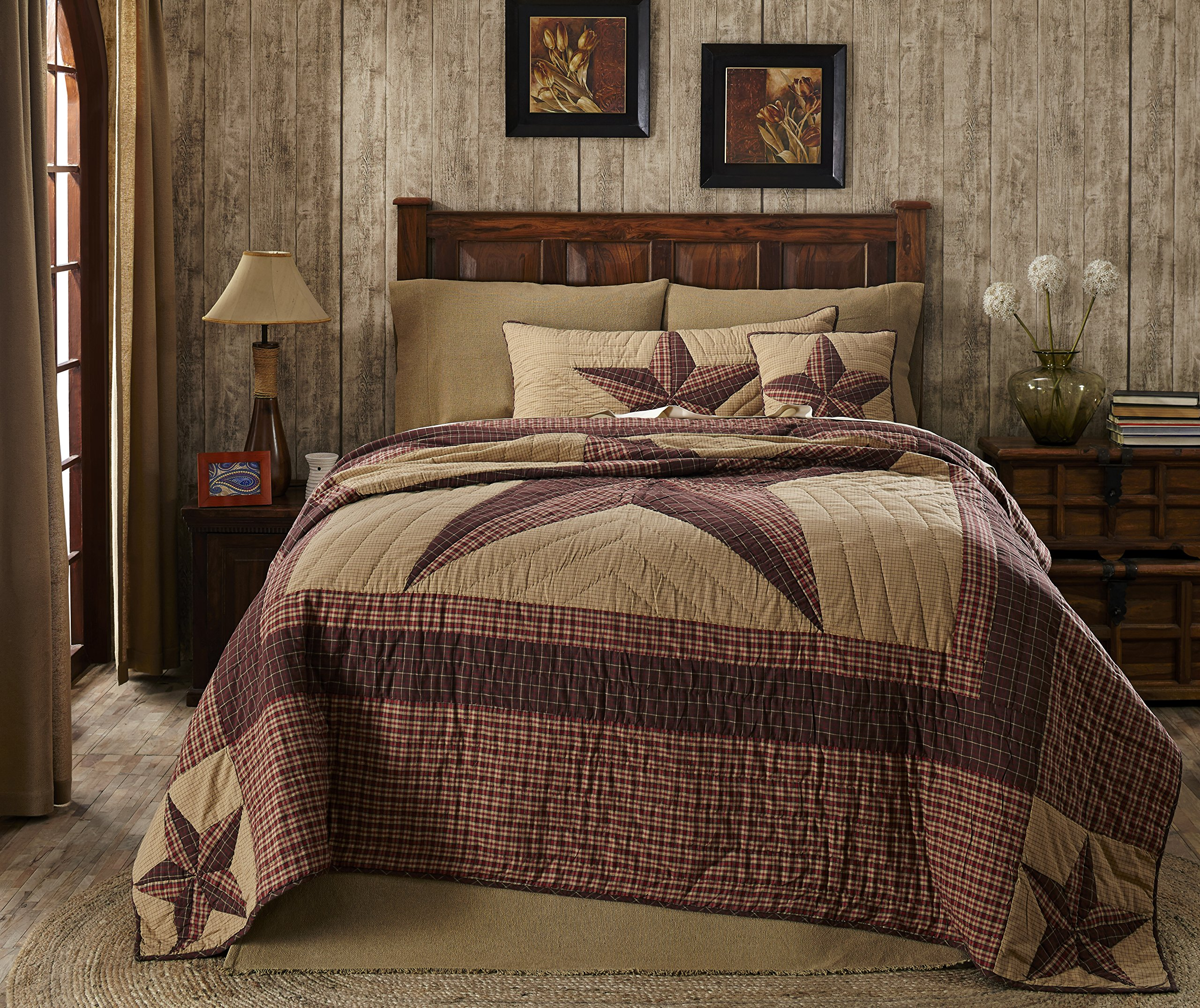 Landon 4 Piece Queen Quilt Set