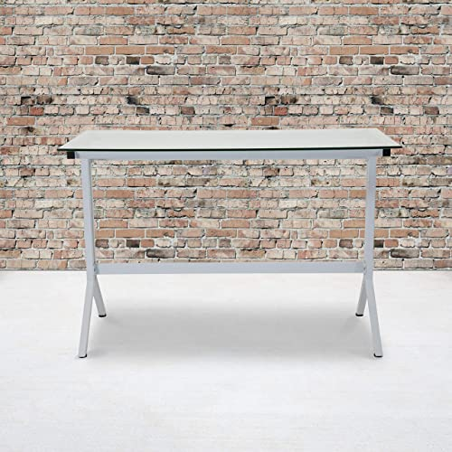 Flash Furniture Winfield Collection Glass Computer Desk