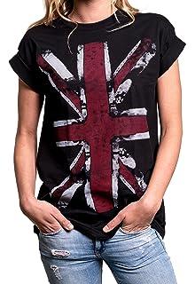 35eb0c78b4844 Amazon.com: TWISTED ENVY UK Union Jack Flag Women's Funny Leggings ...
