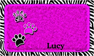 "product image for Drymate Personalized Pet Place Mat 12""X20"" - Furtitude Custom Pet Food Mats"