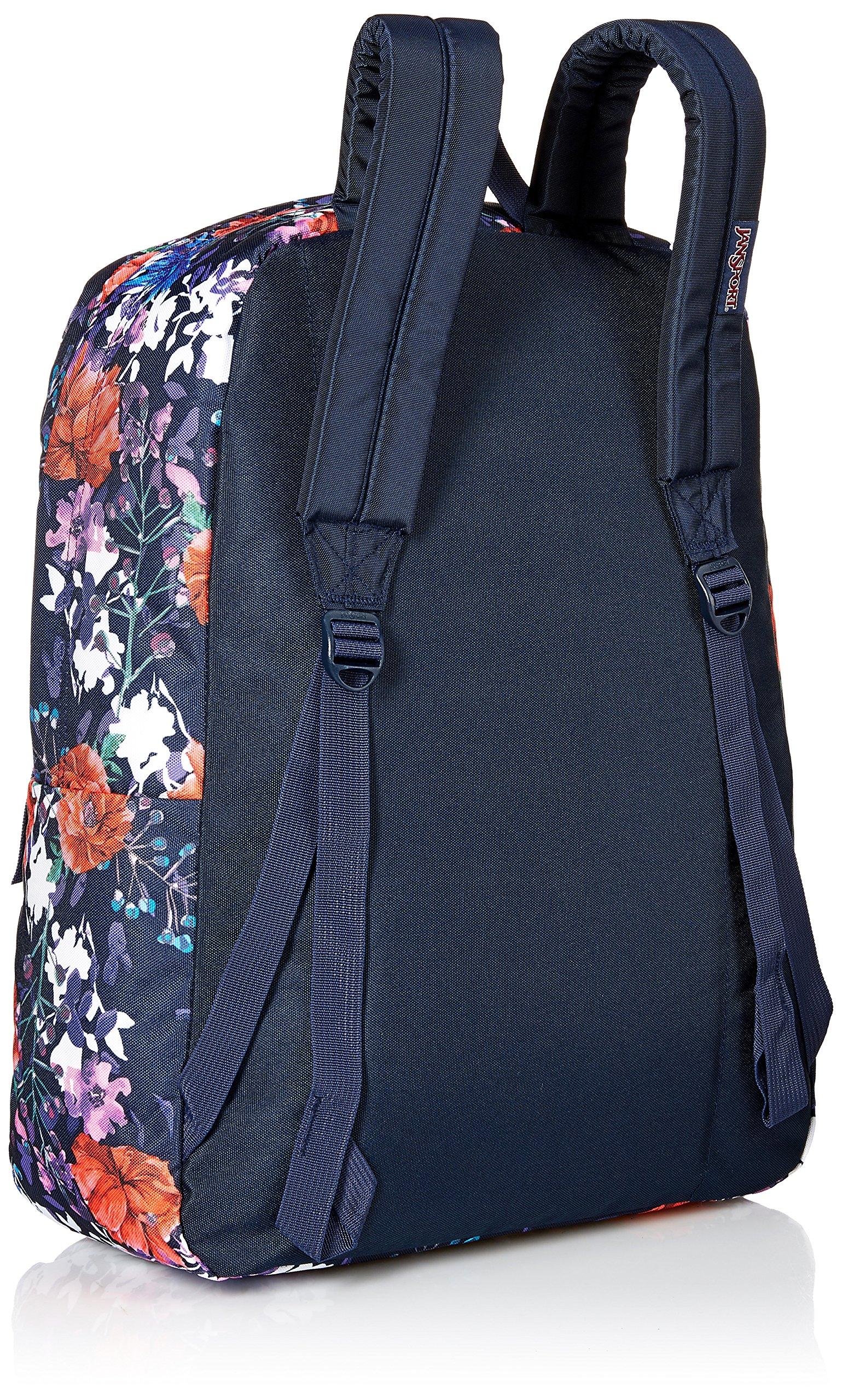 JanSport Superbreak Backpack- Sale Colors (Morning Bloom) by JanSport (Image #2)