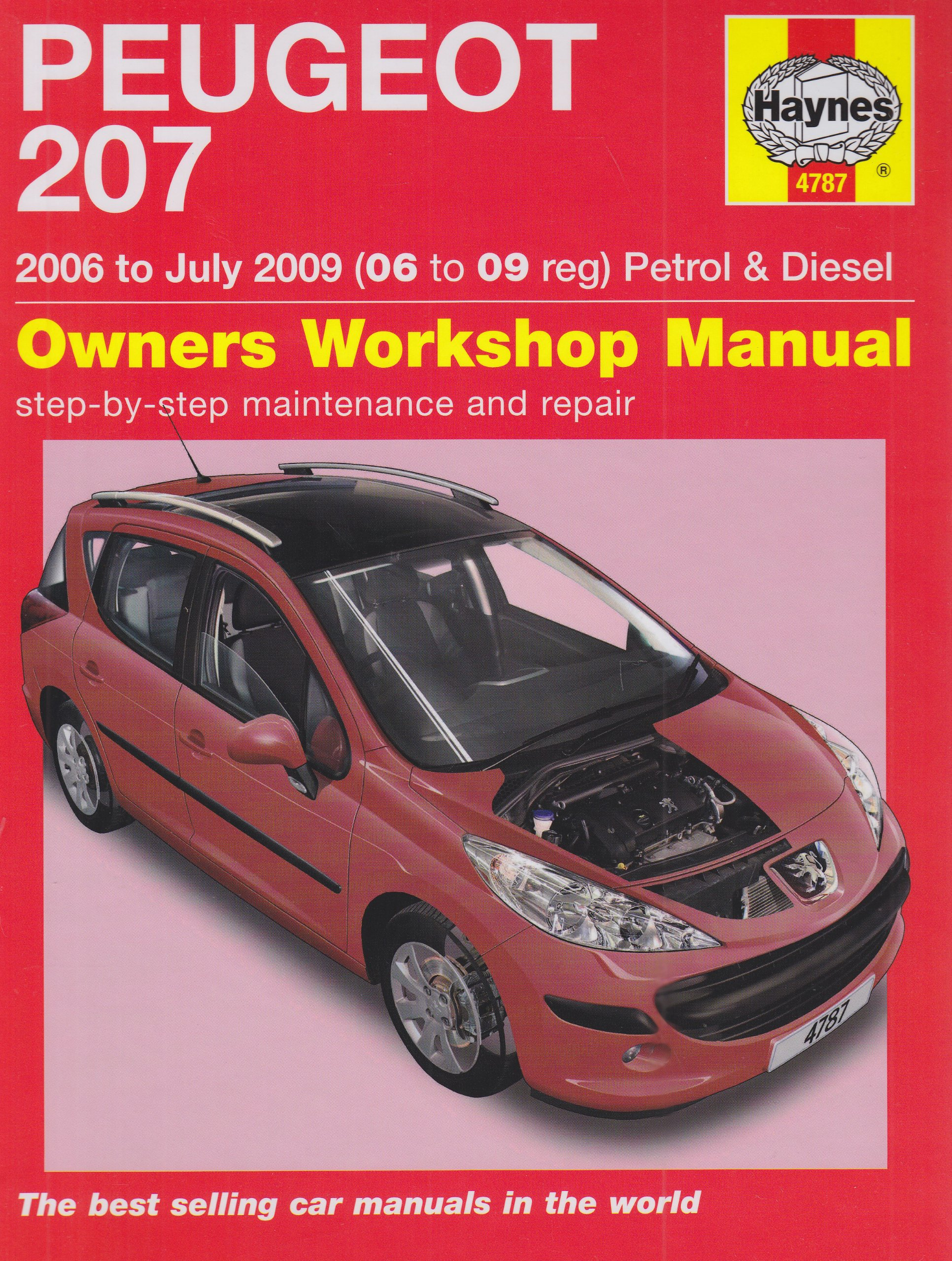 peugeot 207 207sw owners handbook c w wallet 1 4 1 4 vti 1 6 rh amazon co uk peugeot 308 repair manual peugeot 308 repair manual