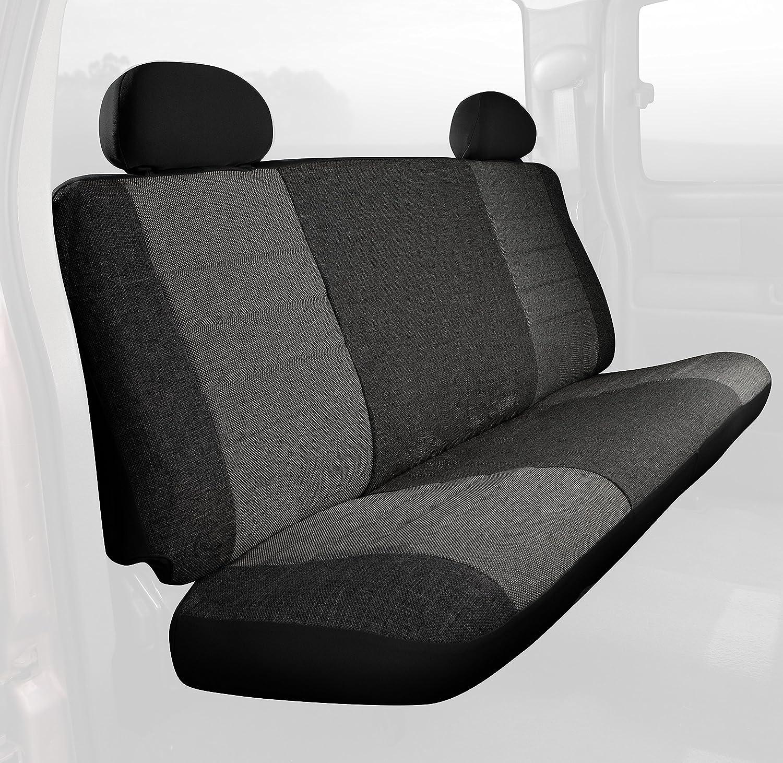 B000BTNVQA Fia OE32-10 CHARC Custom Fit Rear Seat Cover Bench Seat - Tweed, (Charcoal) A1DonCozltL.SL1500_