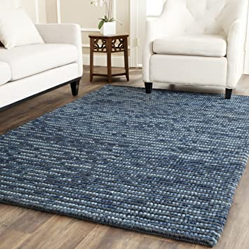 Amazing Safavieh Bohemian Collection BOH525G Hand Knotted Dark Blue And Multi Jute  Area Rug (5