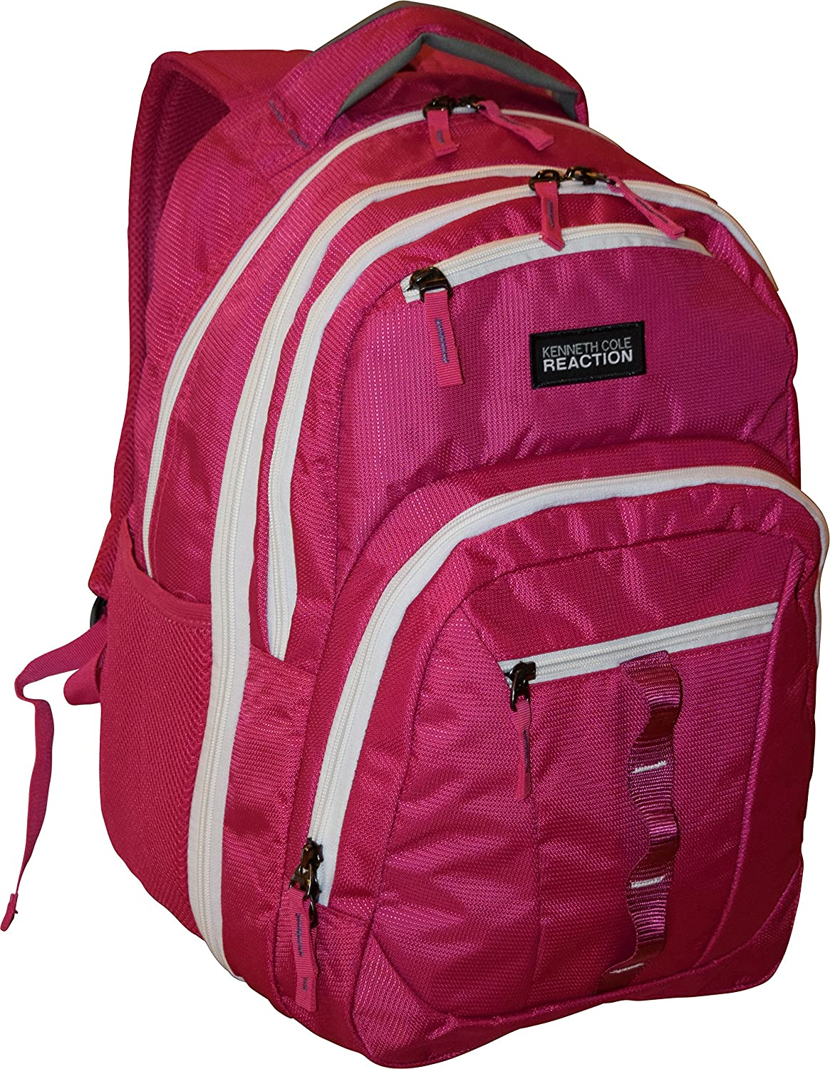"Kenneth Cole Reaction R-Tech 16"" Double Gusset Laptop Backpack - Pink"