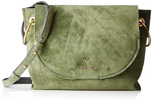 Coccinelle Women's Essentielle Suede E1 Cc1 15 02 01 Shoulder Bag