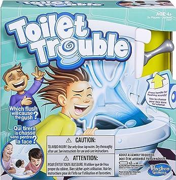 Hasbro C0447092 Juego de mesa de problemas para inodoro , color/modelo surtido: Amazon.es: Juguetes y juegos