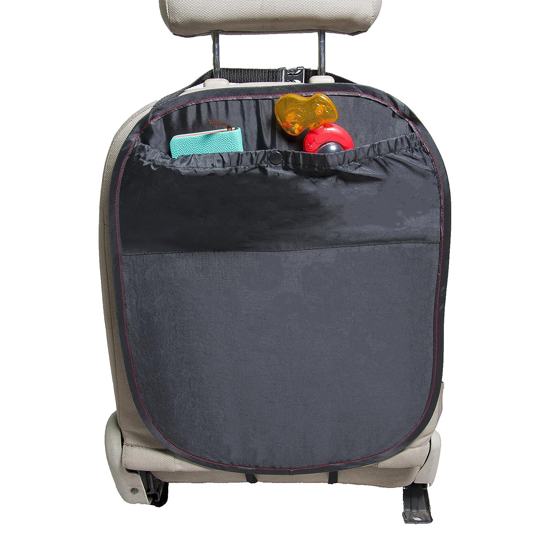 Rückenlehnenschutz Hochwertig Schwarz mit großen Taschen Vertrieb Preiswert & Gut 554478