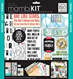 me & my BIG ideas Mixed Friends Mambi Scrapbook Kit, 12-Inch by 12-Inch