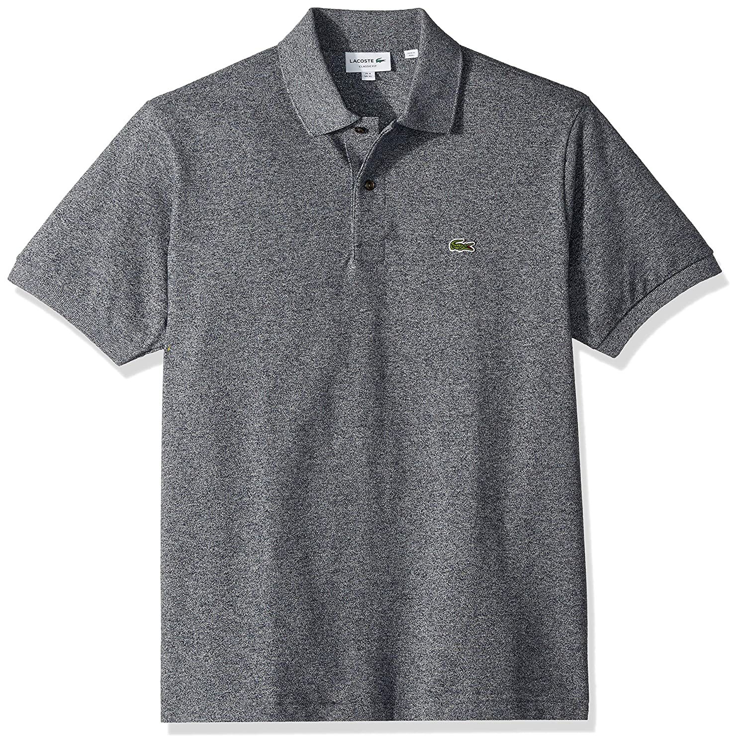 659f7f6e Lacoste Men's Classic Short Sleeve Chine Pique Polo Shirt at Amazon Men's  Clothing store:
