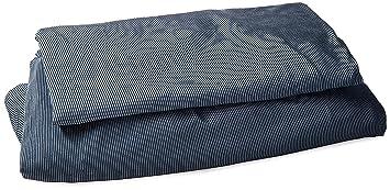 Amazon Com Surefit Stretch Stripe Separate Seat T Cushion Sofa