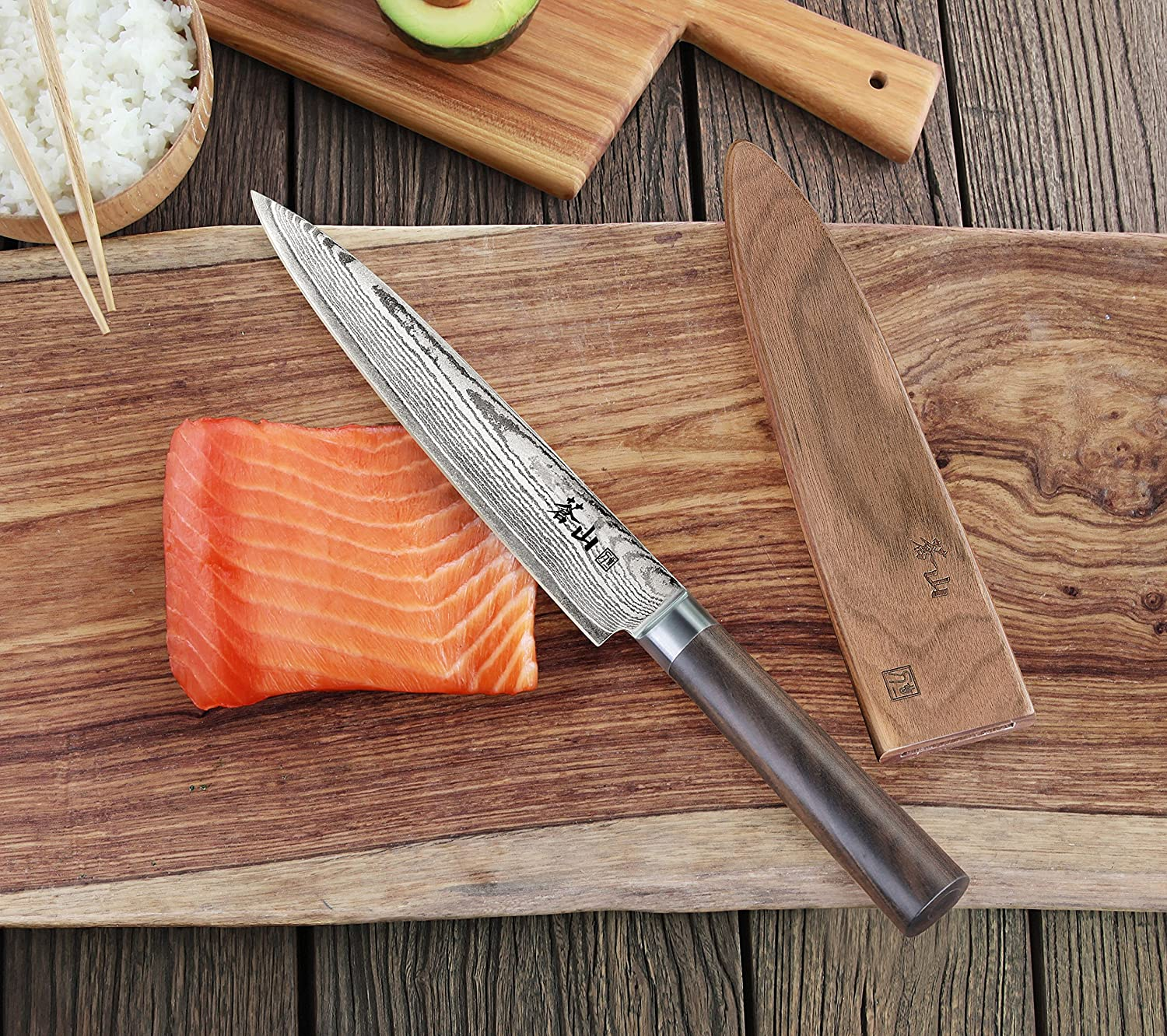 Types of Sushi Knives