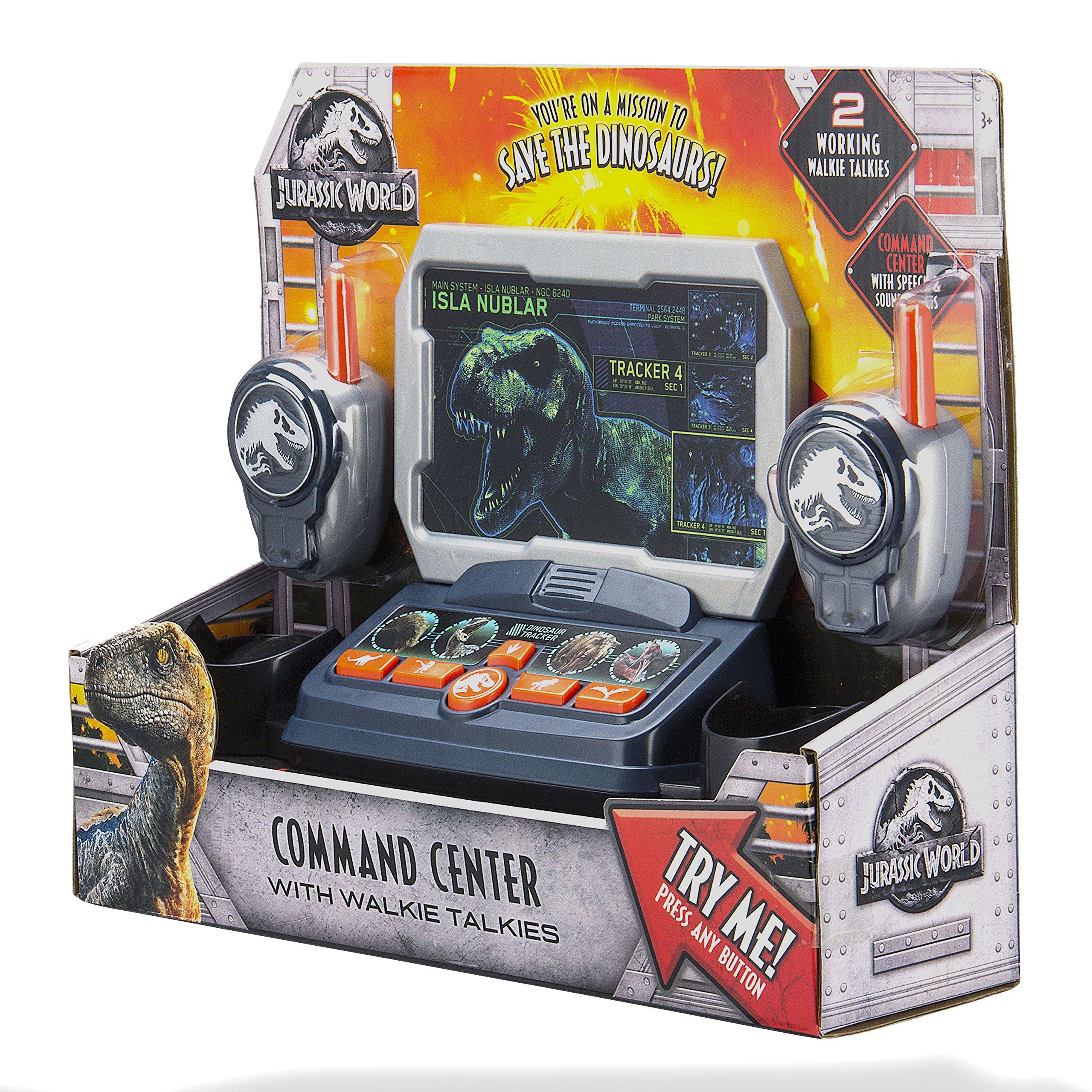 eKids Jurassic World 2 Command Center with Kid Friendly Walkie Talkies and Speech & Sound Effects by eKids (Image #8)