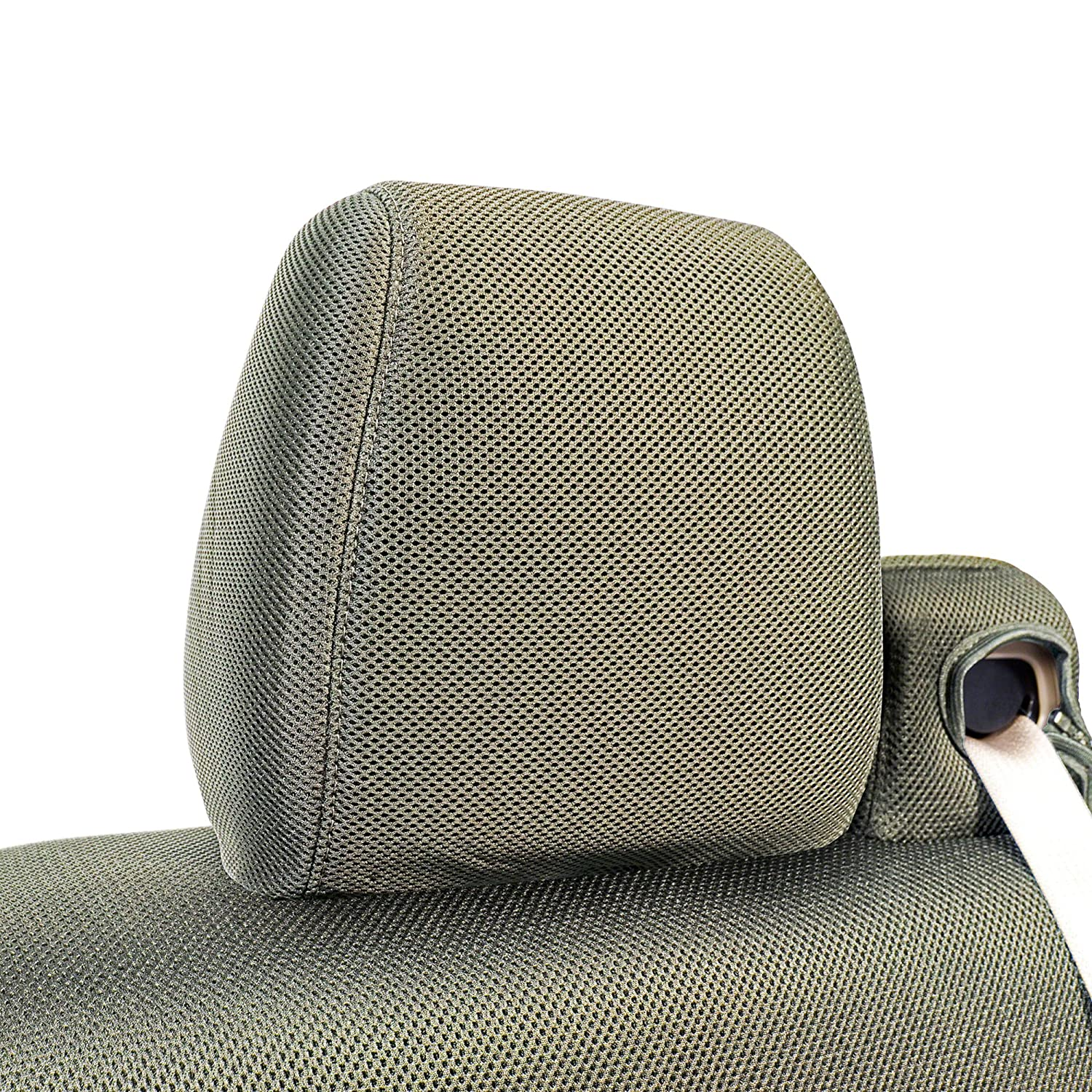 Mesh Solid 1 Row MSCSMM06TT7531M Coverking Custom Fit Molded Seat Cover for Select Toyota Truck Tacoma Models Taupe