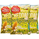 Tiny But Mighty White Cheddar Heirloom Popped Popcorn, Pack of 3