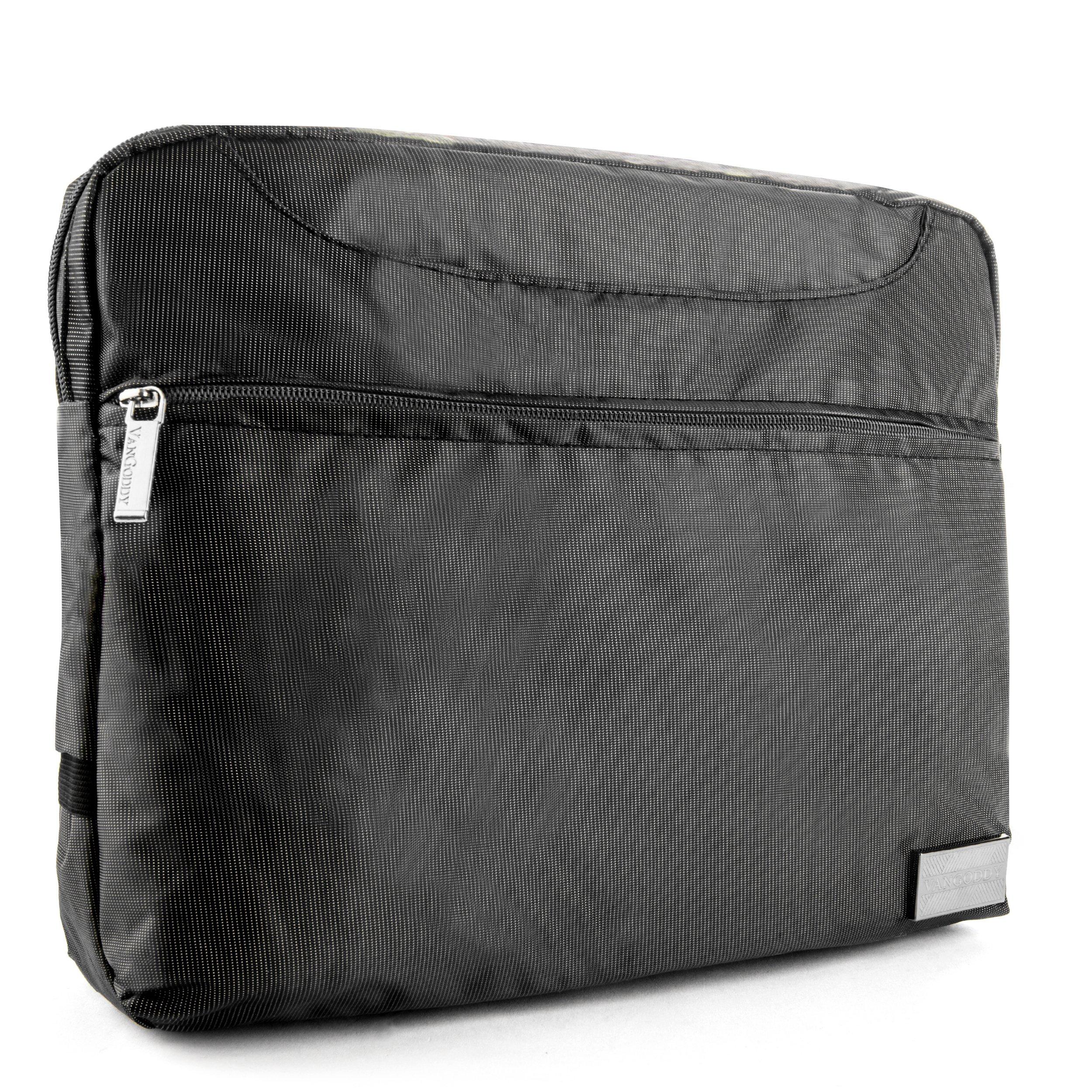 VanGoddy NineO Slim Slate Grey Messenger Bag for Microsoft Surface Laptop / Surface Book / Surface Pro Series 11''-13.5in by Vangoddy (Image #7)