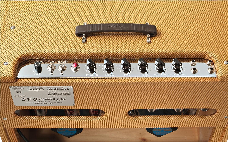 fend008 FENDER BASSMAN /'59 REISSUE 4x10 AMPLIFIER COMBO BROWN VINYL AMP COVER