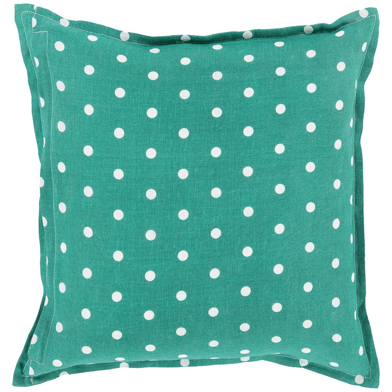 Surya pd006 – 2020p合成塗りつぶし枕、20インチby 20インチ、エメラルド/ケリーグリーン/アイボリー   B00LN8EO2S