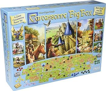Fantasy Flight Games Carcassonne Big Box 2017