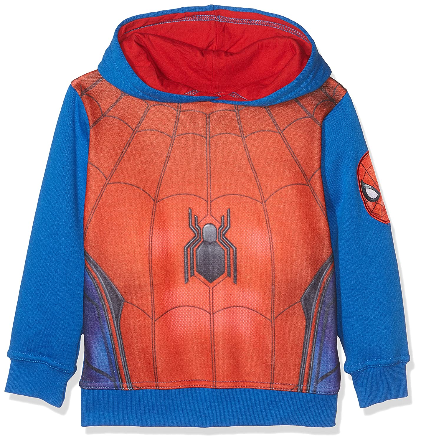 FABTASTICS Marvel Spiderman Sweatshirt mit Kapuze 161176