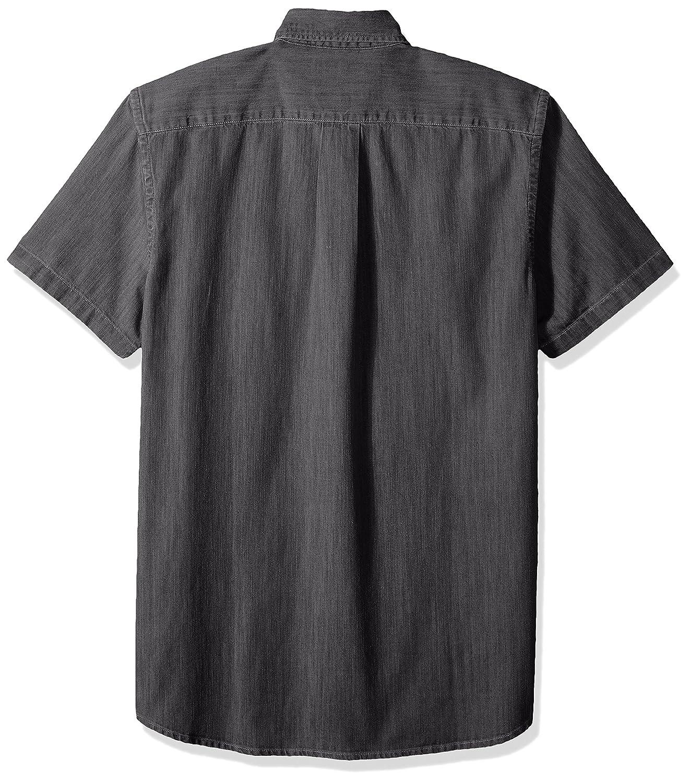 6e64900d72 Amazon.com  Goodthreads Men s Slim-Fit Short-Sleeve Denim Shirt  Clothing