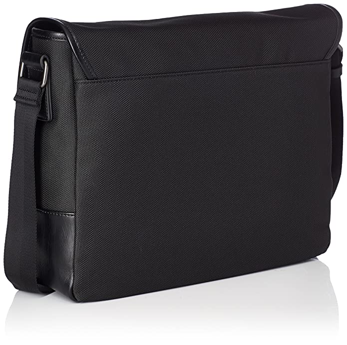 Hm6139nyl73, Womens Top-Handle Bag, Nero, 9x31x35.5 cm (W x H L) Guess