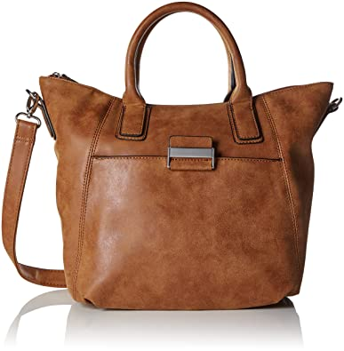 Damen Be Different Handbag Mhz Baguettes, Braun (703), 37x26x11 cm Gerry Weber