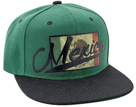 Mexico with Bird Sublimation 3D Logo Snapback Baseball Hat at Amazon ... 38516e05fb3