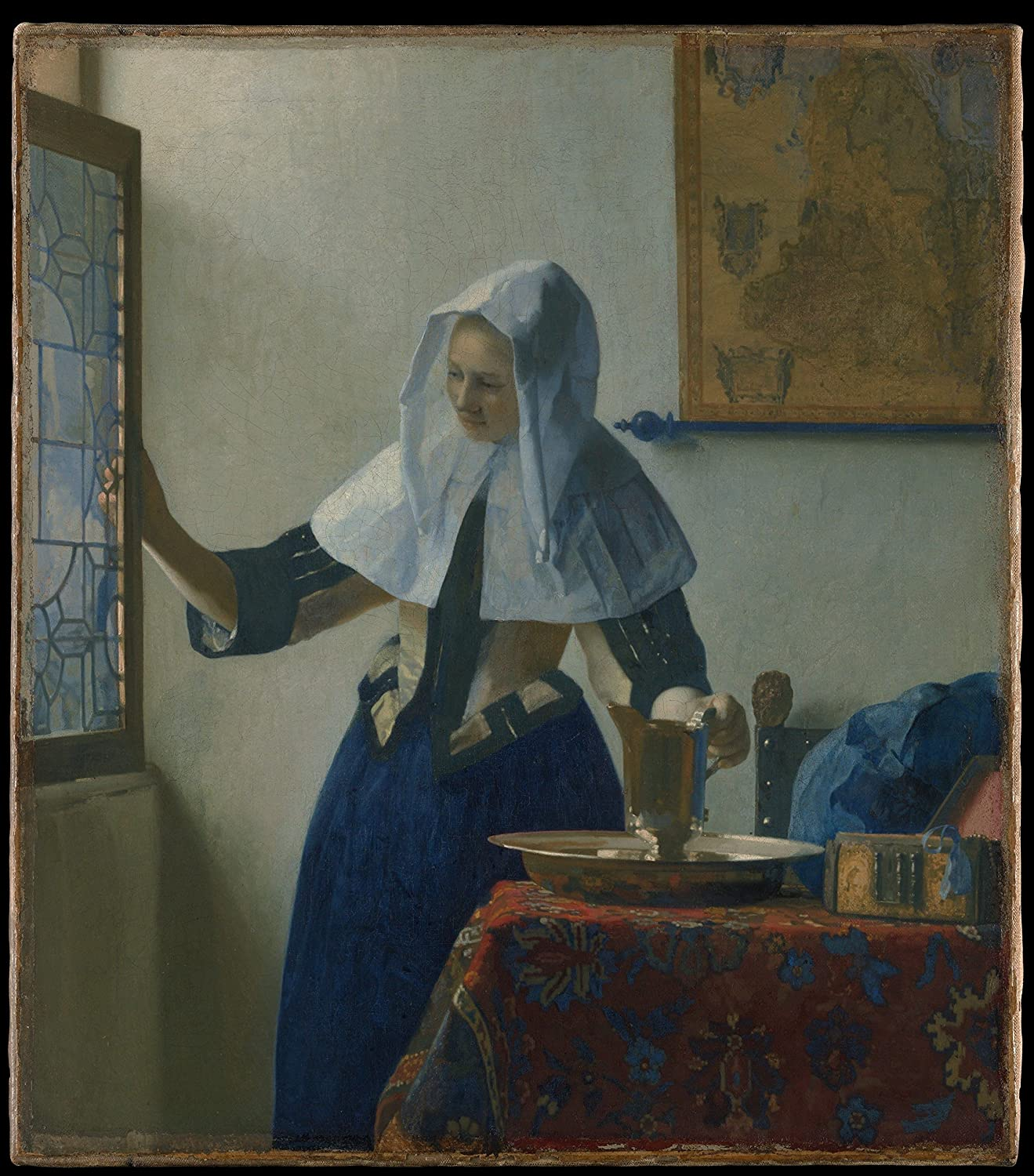 Картинки по запросу vermeer young woman with a water jug