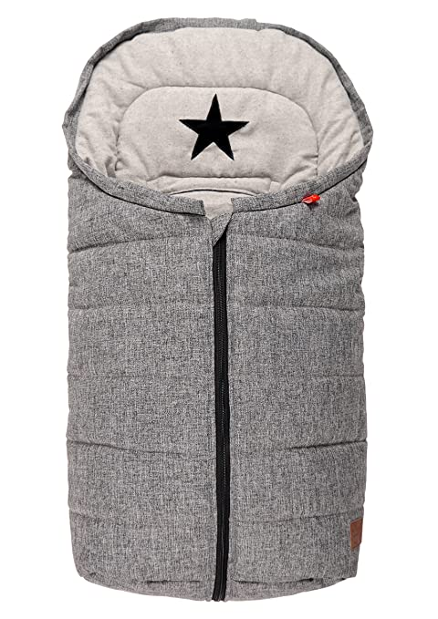 Kaiser 65337225 Anna Looping-Saco de abrigo para carrito de bebé para silla algodón Fleece