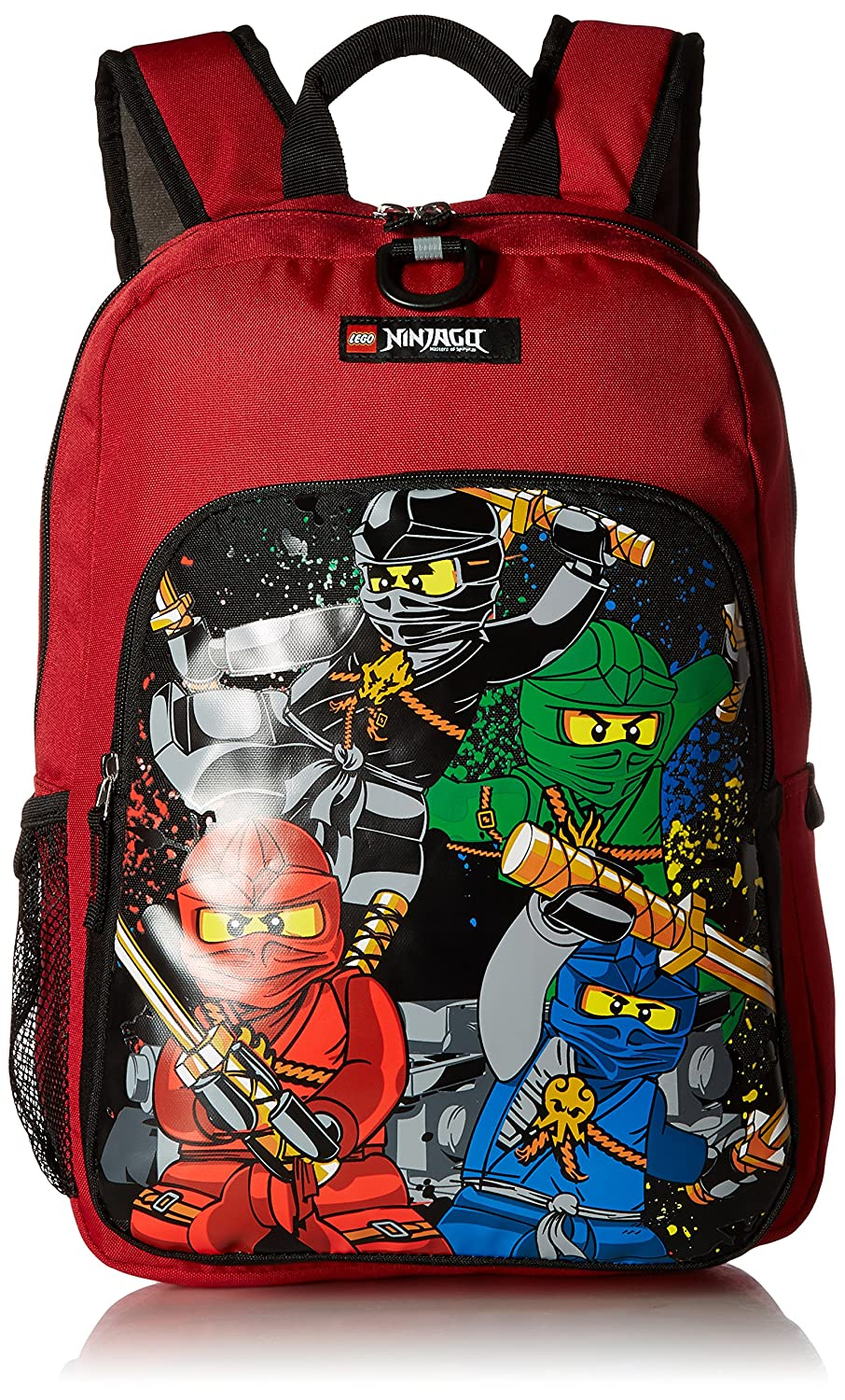 Lego Kids' Ninjago Team Heritage Classic Backpack, Red, One Size Carrygear DP0961-300NT