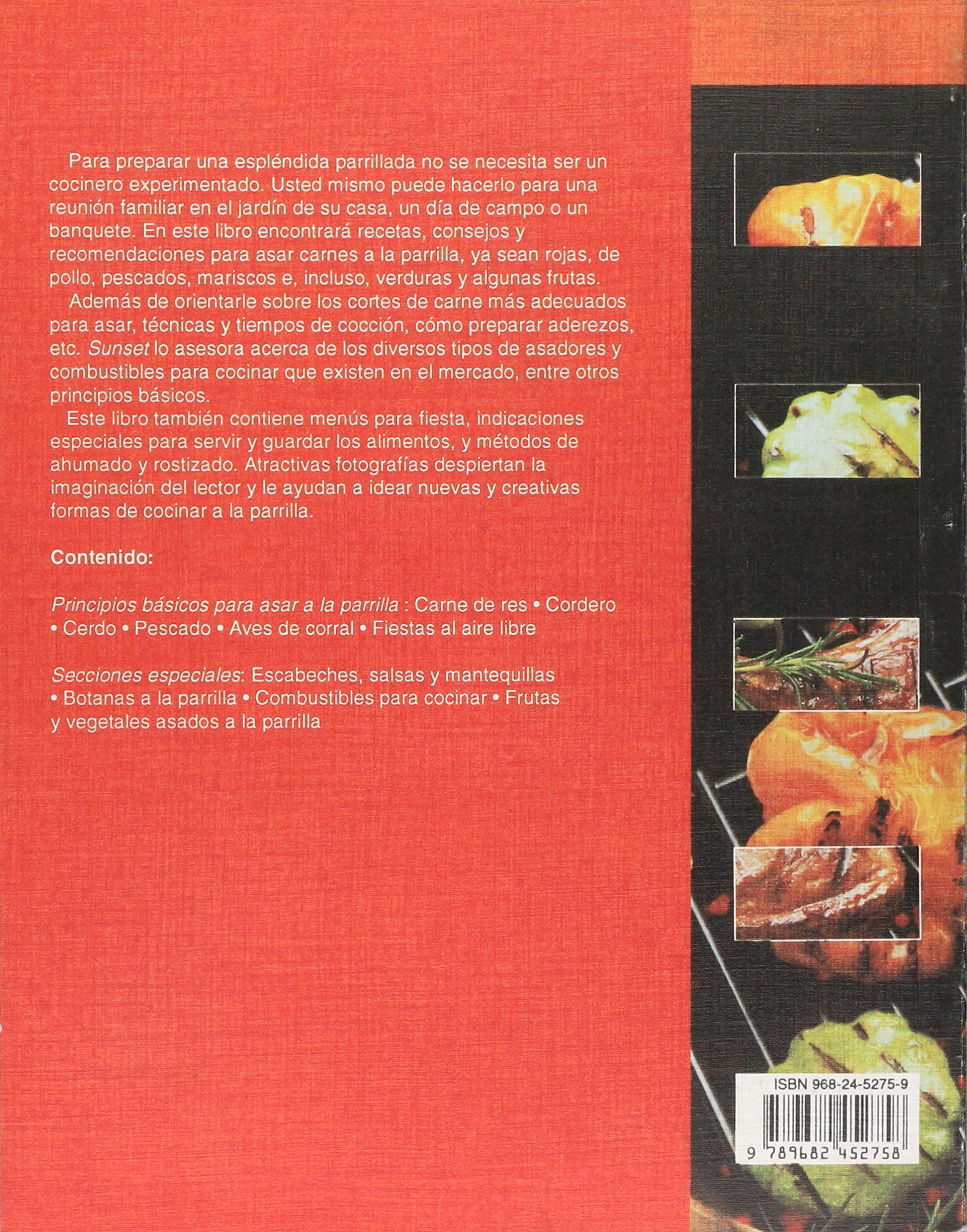 COMO ASAR A LA PARRILLA: TRILLAS SUNSET: 9789682452758: Amazon.com: Books
