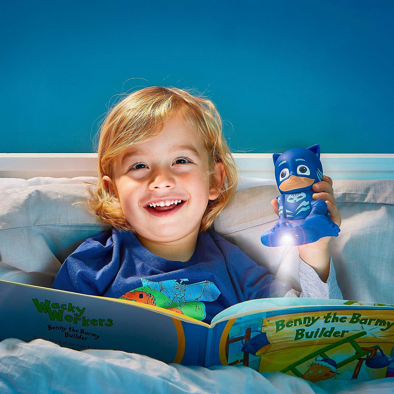 Azul Norme GoGlow PJ Masks Linterna y Luz de Noche