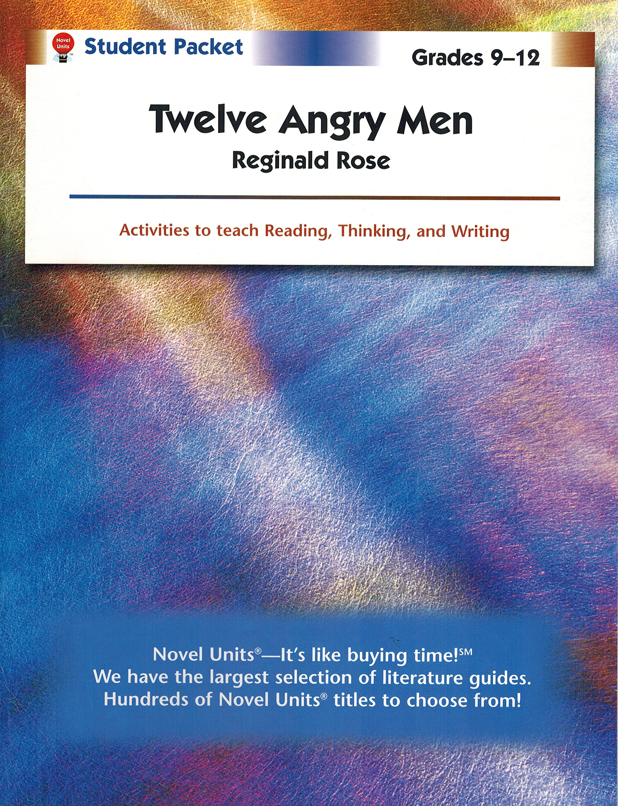 Read Online Twelve Angry Men - Student Packet by Novel Units ebook
