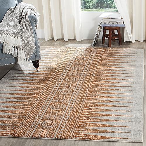 Safavieh Evoke Collection EVK226S Boho Non-Shedding Stain Resistant Living Room Bedroom Area Rug