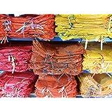 Bratpol 300Sacchi di mesh per patate, cipolle, da 35 x 50 cm per 5kg, 40 x 63 cm per 10-15kg, 50 x 80 cm per 25-30kg