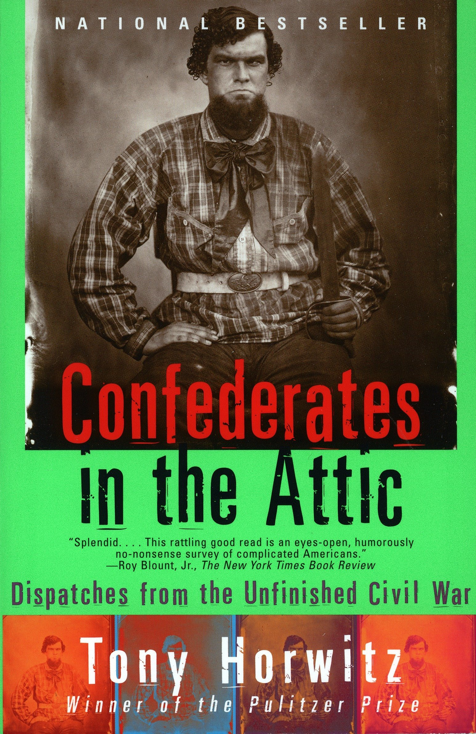 Image result for confederates in the attic book image