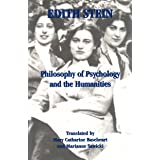 Philosophy of Psychology and the Humanities (The Collected Works of Edition Stein Book 7)