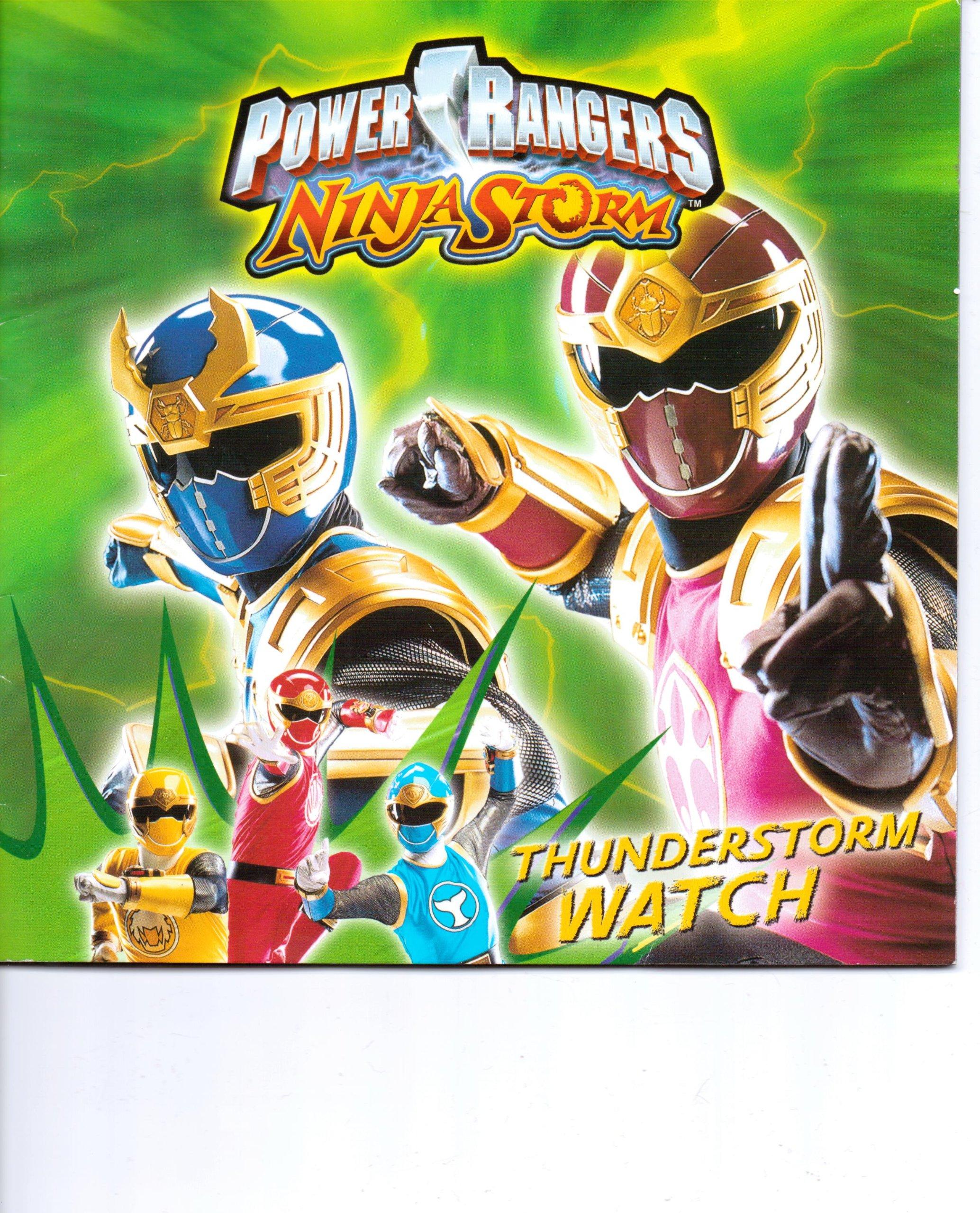 Power Rangers Ninja Storm ~ Thunderstorm Watch: SGC Power ...