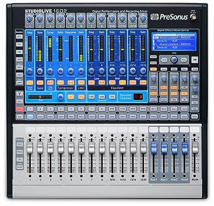 amazon com presonus studiolive 16 0 2 16 channel audio mixer rh amazon com Mac Firefox 16.0.2 PreSonus StudioLive 16.0.2 Case