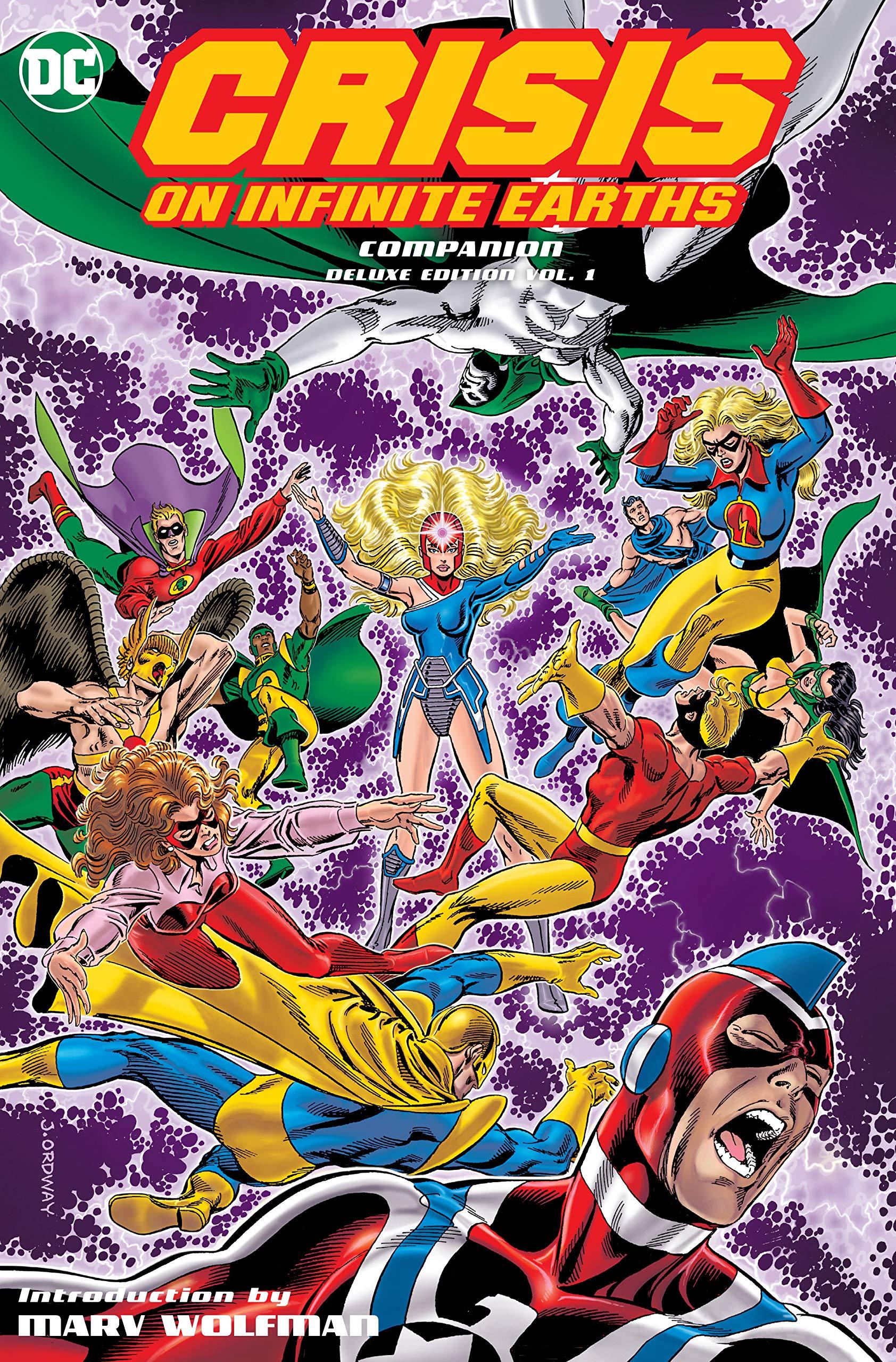 c81f558397f51 Amazon.com  Crisis on Infinite Earths Companion Deluxe Edition Vol ...